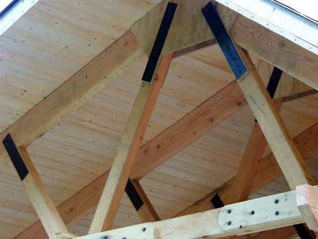Alaska quality builders for Tongue and groove roof decking