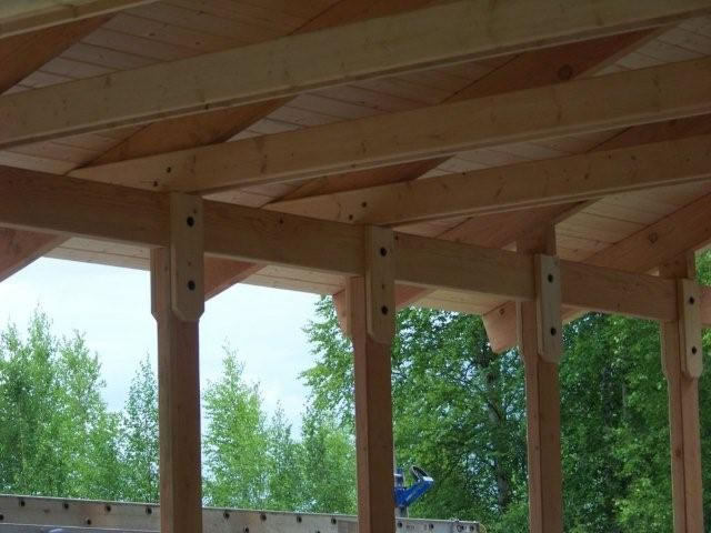 Alaska quality builders - Tongue and groove exterior decking ...